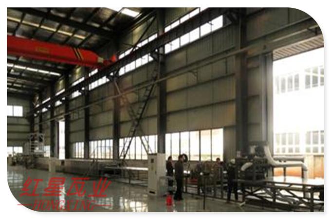 采光瓦设备生产必备条件